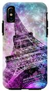 Pop Art Eiffel Tower IPhone X Tough Case