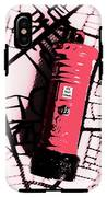 Pop Art Pillar Post Box IPhone X Tough Case