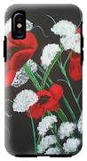 Poppies And Lace IPhone X Tough Case