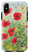 Poppies And Mayweed IPhone X Tough Case