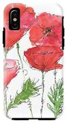 Poppy Garden IPhone X Tough Case