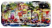 Portofino Italian Riviera IPhone X Tough Case