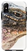 Portrait Of Iguana IPhone X Tough Case