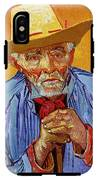 Portrait Of Patience Escalier IPhone X Tough Case