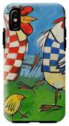 Poultry In Motion IPhone X Tough Case