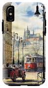 Prague Kaprova Street IPhone X Tough Case