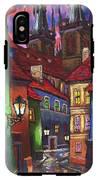 Prague Old Street 01 IPhone X Tough Case