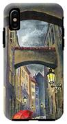 Prague Old Street Love Story IPhone X Tough Case