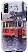 Prague Old Tram 01 IPhone X Tough Case