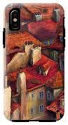 Prague Roofs IPhone X Tough Case