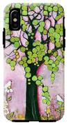 Pretty In Pink Paradise Tree IPhone X Tough Case