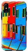 Primary Colors Of Burano IPhone X Tough Case