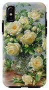 Princess Diana Roses In A Cut Glass Vase IPhone X Tough Case