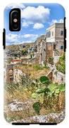 Puglia Canvas Church Hermitage Pulsano - Monte Sant Angelo - Foggia - Gargano IPhone X Tough Case