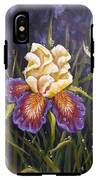 Purple Iris IPhone X Tough Case