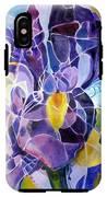 Purple Irises IPhone X Tough Case