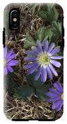 Purple Yard Flowers IPhone X Tough Case