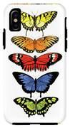 Rainbow Butterflies IPhone X Tough Case
