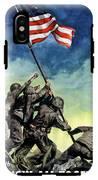 Raising The Flag On Iwo Jima IPhone X Tough Case