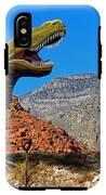 Rajasaurus In The Desert IPhone X Tough Case