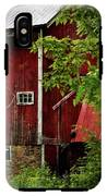 Red Barn 1 IPhone X Tough Case