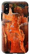 Red Glow On Thor's Hammer In Bryce Canyon IPhone X Tough Case