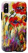 Red Poppies And Bees Provence Dreams IPhone X Tough Case