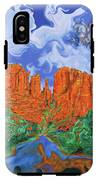 Red Rock Crossing IPhone X Tough Case