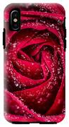 Red Rose IPhone X Tough Case