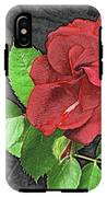 Red Rose For My Lady IPhone X Tough Case