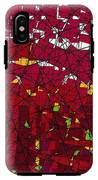 Red Stained Glass IPhone X Tough Case