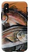 Redfish Frenzy IPhone X Tough Case