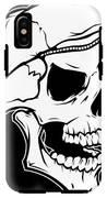 Retro Skull IPhone X Tough Case