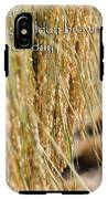 Rice Harvest - Haiku IPhone X Tough Case