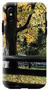 Rockford In Autumn IPhone X Tough Case