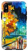Romantic Night 2 - Palette Knife Oil Painting On Canvas By Leonid Afremov IPhone X Tough Case