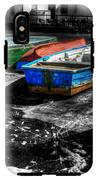 Row Boats At Mudeford IPhone X Tough Case