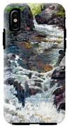 Rushing Waters IPhone X Tough Case
