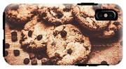Rustic Kitchen Cookie Art IPhone X Tough Case