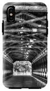 Sachs Bridge - Gettysburg - Bw-hdr IPhone X Tough Case
