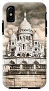 Sacre Coeur Sepia IPhone X Tough Case