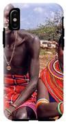 Samburu Couple IPhone X Tough Case