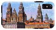 Santiago De Compostela, Cathedral, Spain IPhone X Tough Case