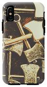 Scattering Axes IPhone X Tough Case