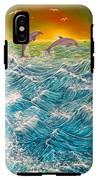 Sea In Action IPhone X Tough Case