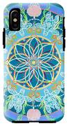 Sea Turtle Mandala  IPhone X Tough Case