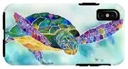 Sea Weed Sea Turtle  IPhone X Tough Case