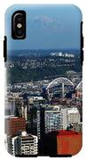Seattle Skyline IPhone X Tough Case
