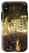 Seattle Westlake Tree Lighting IPhone X Tough Case