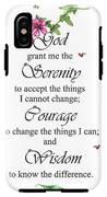 Serenity Prayer IPhone X Tough Case